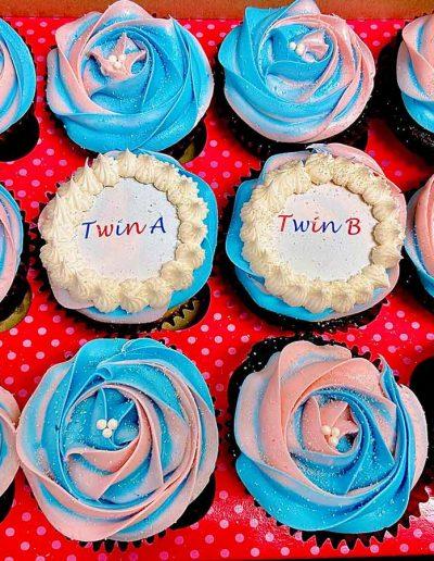 twin cupcakes