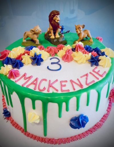 lion king Character Cake Collection