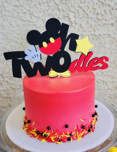 micky Character Cake Collection