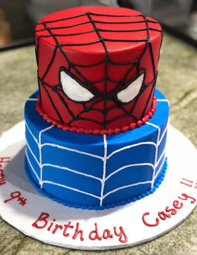 spider man Character Cake Collection