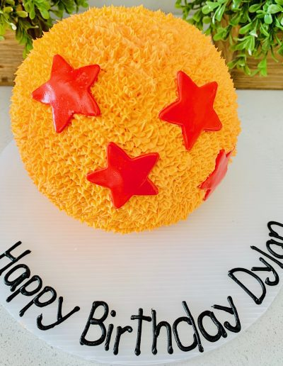 sport custom cake