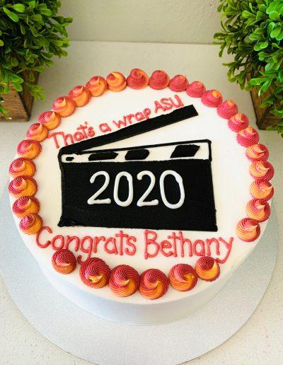 ASU Graduation Cake