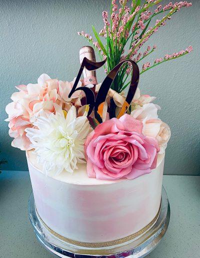 50th custom cake