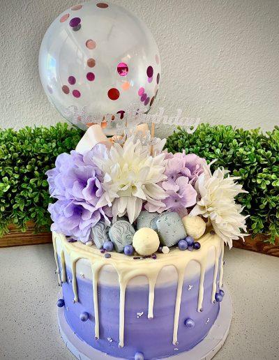 happy birthday novelty cake