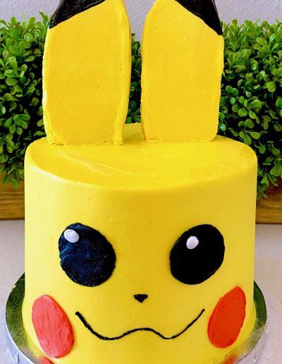 pikachu cake