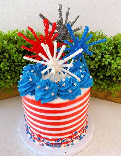 America custom cake