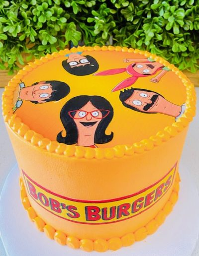 Bobs burger Character Cake Collection