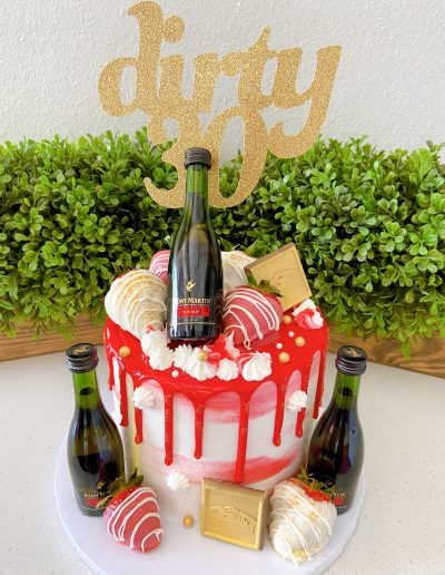 dirty 30 Luxury Cake Collection