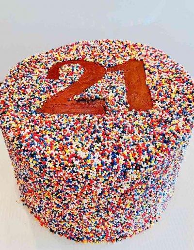 Sprinkle Cake 21st