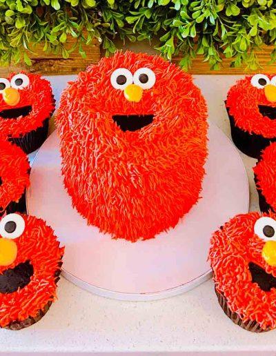 Elmo Smash cake Collection